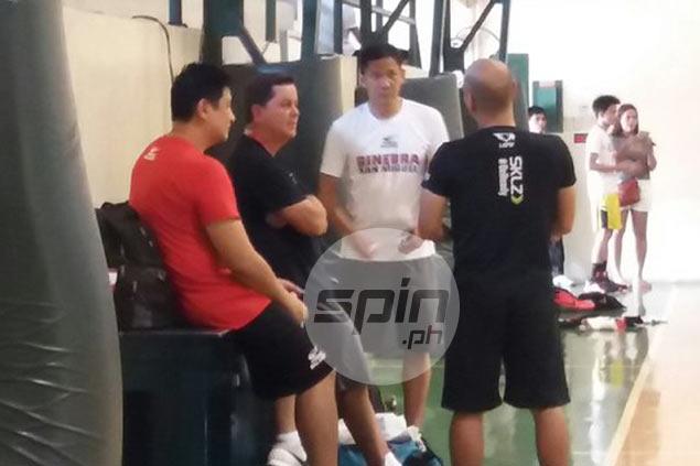 Cone on Gilas cadets skipping a PBA draft where Ginebra has two high picks: 'Sayang'