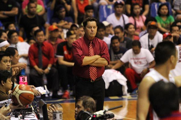 Tim Cone delighted to see Ginebra pass 'test of character' in 2OT win over Blackwater
