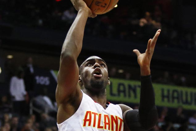 Tim Hardaway Jr makes first start for Hawks as Kent Bazemore sits with bone bruise