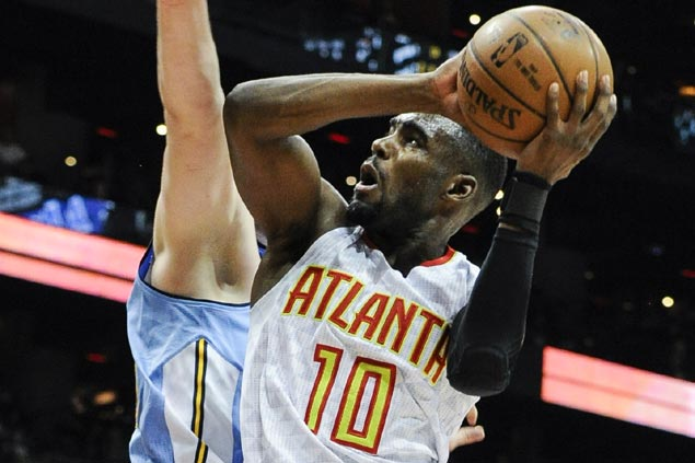 Tim Hardaway Jr shines in first start for Atlanta as Hawks soar over Nuggets for fourth straight win