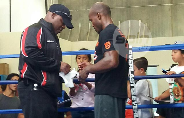 If his dad had his way, Tim Bradley would've been a football player and not a boxer