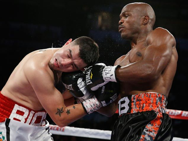 Timothy Bradley lines self up for another shot at Pacquiao with ninth-round KO of Rios