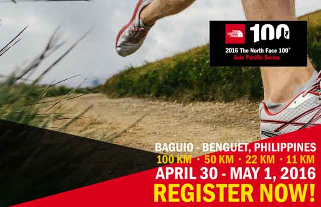 Trail runners, ultra marathoners gear up for 2016 The North Face 100 Baguio Benguet