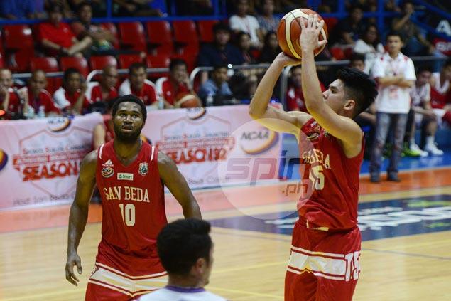 San Beda coach Jarin lauds Tongco, Soberano in carrying Dan Sara-less Red Lions
