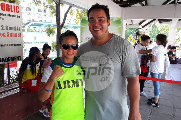 Husband sets aside own athletic career to help Marestella Torres book ticket to Rio