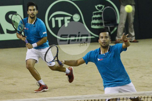 Treat Huey, Francis Alcantara rout Kuwait pair as Philippines clinches Davis Cup tie