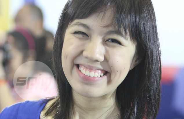 Courtside reporter Tricia Robredo, true-blue Atenean, happy to be part of a 'family' with NU Bulldogs