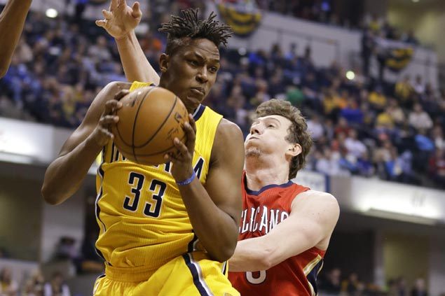 Myles Turner carries banged-up Pacers over decimated but feisty Pelicans