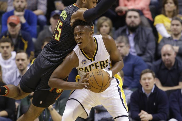 Monta Ellis, Myles Turner team up to lift Pacers over cold-shooting Hawks and snap 3-game slide