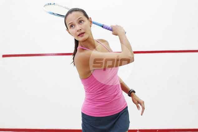 Tweetie's swansong: De Leon-Gonzales hosts celebrity squash tournament for last time