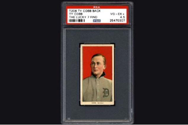 Family hits jackpot after finding cache of rare Ty Cobb baseball cards worth 7 figures