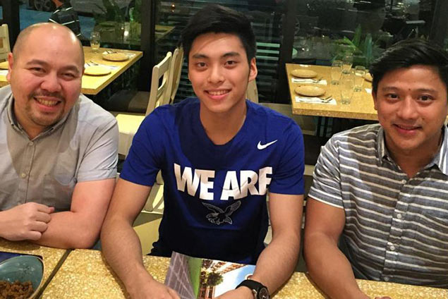 Tyler Tio bound to Ateneo after commiting to play for Blue Eagles in college