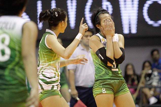 La Salle skipper Ara Galang refuses to blame rust for shock loss to NU Lady Bulldogs