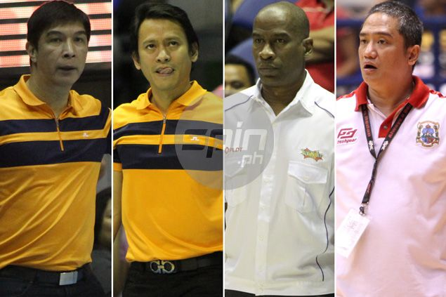 Source: MVP group to shuffle coaches of Meralco, Talk 'N Text, and NLEX