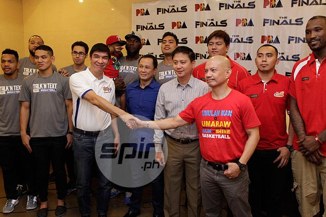 Yeng Guiao says Rain or Shine ready to exorcise Talk 'N Text jinx in PBA finals