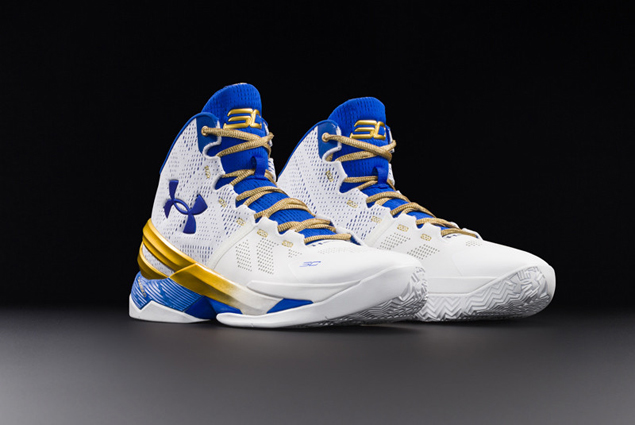 Under Armour shows confidence in marquee endorser with Curry 2 'Gold Rings' release