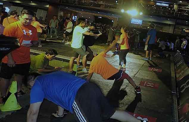 Celebrities, martial artists, fitness buffs take on Fight Form challenge
