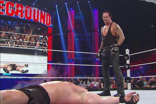 Undertaker surprises Brock Lesnar at WWE Battleground as possible rematch looms in SummerSlam