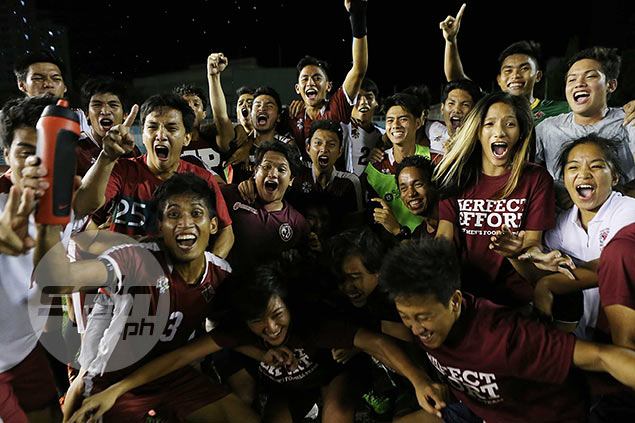 Emotions run high after UP's special feat.
