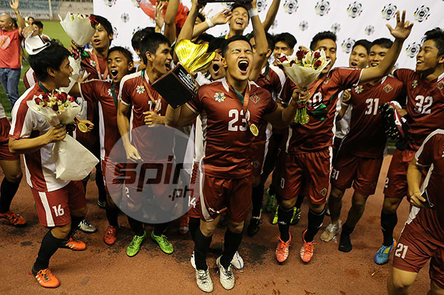 UP Maroons kick off quest for UAAP football title brace in game against La Salle