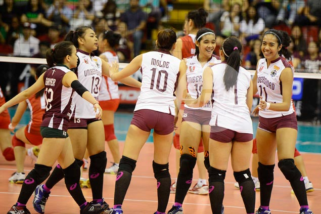 Pia Cayetano, member of last UP title team, urges current Lady Maroons to 'think like champions'