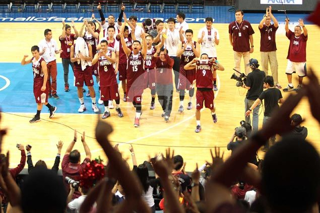 Bottoms UP in UAAP as Maroons put end to 27-game losing streak with romp against Falcons