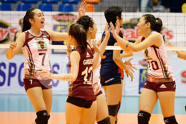 In-form UP Lady Maroons, Army gun for playoff for V-League semifinal berth