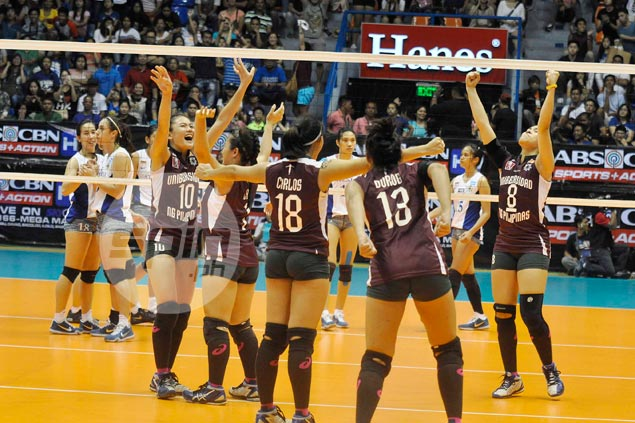 UP coach says Lady Maroons pounced at a time when Ateneo was 'most vulnerable'
