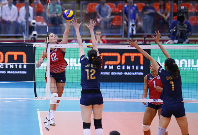 USA banks on balanced attack to beat China and march to FIVB World Grand Prix semis