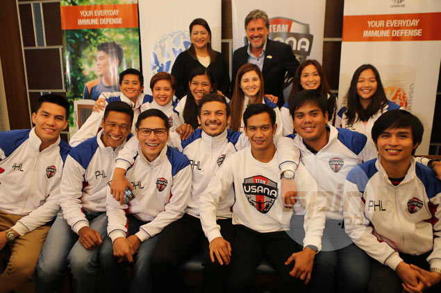 Alyssa Valdez, JC Intal, Misagh Bahadoran banner new batch of USANA Team Pilipinas