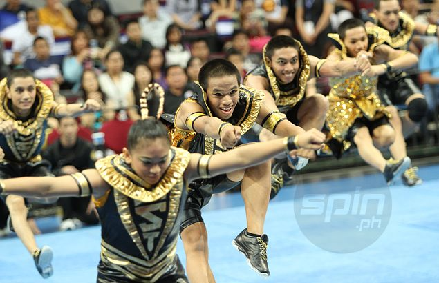 UAAP cheerdance preview: UST ready to rise like Phoenix after going bust with Egypt-inspired routine