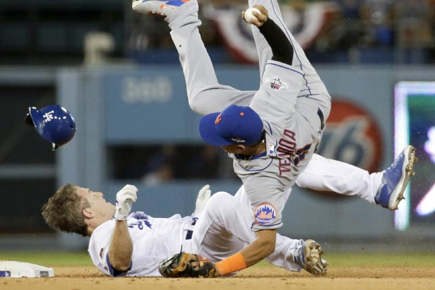 MLB imposes ban on rolling block slides in wake of Chase Utley play