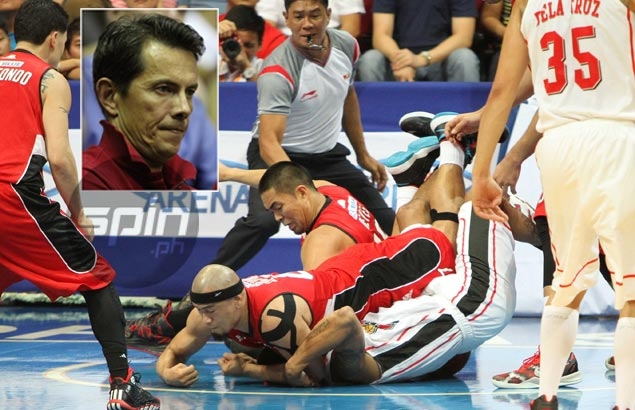 Alaska owner Uytengsu calls for fair officiating, hits out at Caguioa 'MMA foul' on Abueva