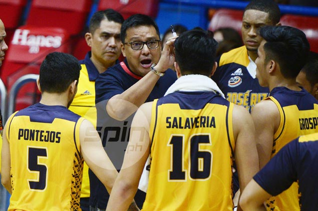 Fuming Meneses storms out of dugout, blasts JRU players for 'lack of pride'