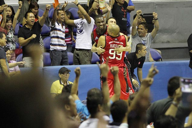 VIDEO: Reduced into a cheerleader, injured Caguioa says it's not easy to be a fan
