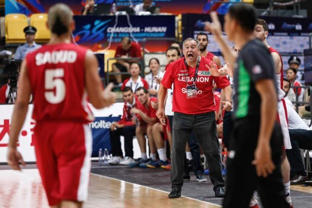 Coach admits Lebanon the '100 percent underdog' against streaking Gilas in quarters