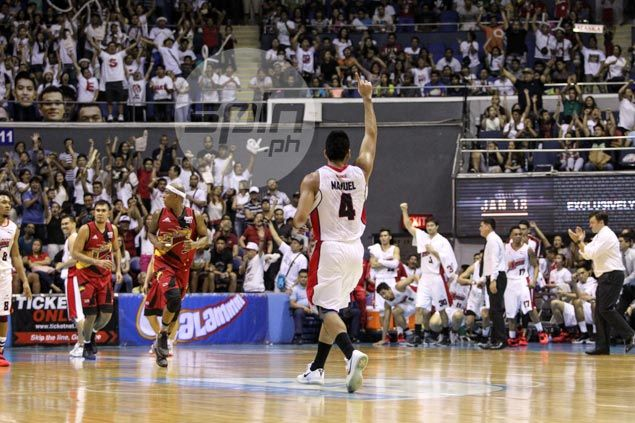 Alaska gets act together just in time to beat Fajardo-less San Miguel in Game 1