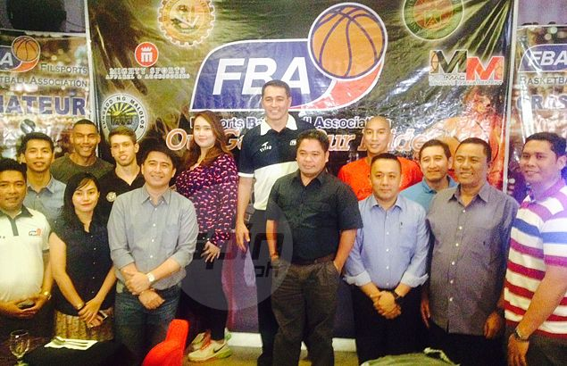 Former MBA star Vince Hizon stands at the helm as new regional basketball league is born