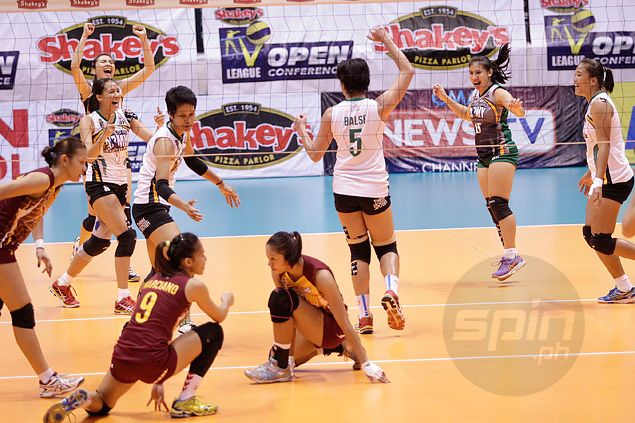 Army demolishes defending champion Cagayan Valley, moves a win away from claiming Shakeys V-League title