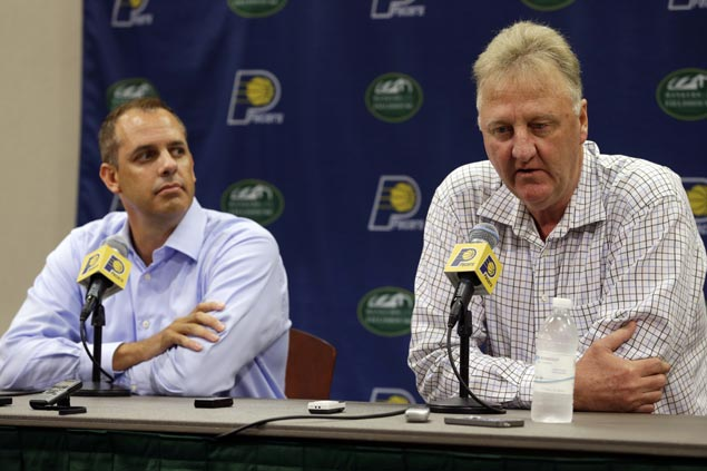 Indiana seeks 'new voice' as Pacers part ways with Frank Vogel