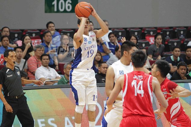 Von Pessumal keeps faith even in the midst of horrible shooting slump with Blue Eagles