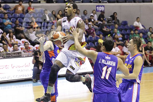 Rain or Shine flirts with disaster before nipping NLEX on timely McKines, Tiu baskets