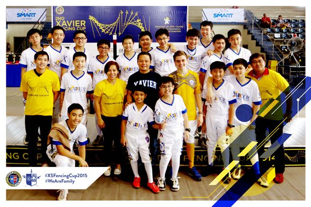 Promising fencers get chance to show wares in Xavier School Fencing Cup 2015
