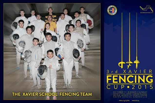 Xavier boys counting on 'X factor' in quest to wrest XS Fencing Cup title from UE