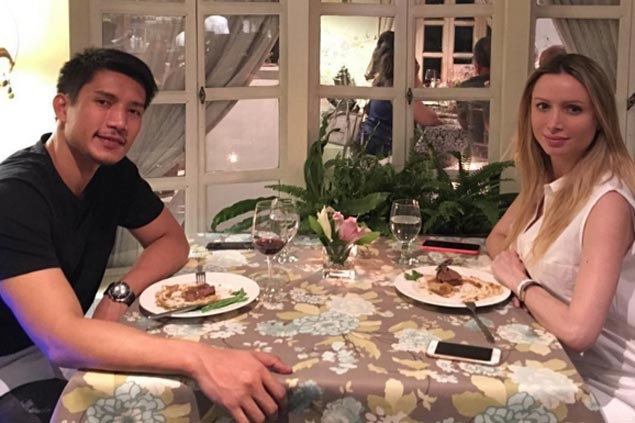 It's a boy for PBA star James Yap and partner Michela Cazzola