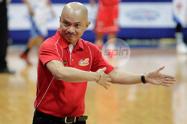 Yeng Guiao says Rain or Shine needs tweaking of system - not a roster change