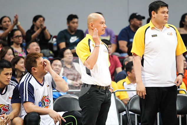 Guiao quick to put meltdown behind him, jokes about 'pabebe wave: 'Nag-trending tayo'