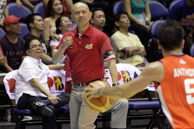 Yeng Guiao accepts blame, admits 'overplaying' substitutes enabled Meralco to seize momentum