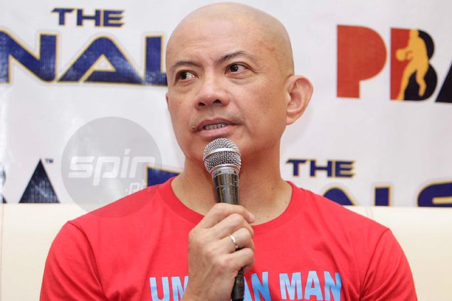 Yeng Guiao likes what he's seeing from Rain or Shine ahead of Game One
