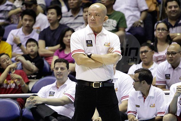 Guiao says Rain or Shine back in underdog role in finals against either Purefoods or TnT